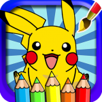 coloring pokemo monster pikachu sun and moon 1.0.0 APK