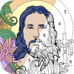 Bible Coloring – Color By Number, Free Bible Game 2.4.1 APK