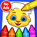 Coloring Games: Coloring Book, Painting, Glow Draw 1.0.7 APK