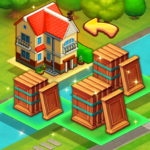 Merge train town: Merge Trees to create a My Home 1.1.19 APK