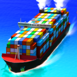 Sea Port: Cargo Ship & Town Build Tycoon Strategy 1.0.159 APK