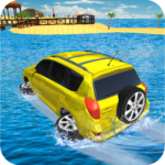 Water Surfer Jeep Cars Race on Miami Beach 1.7 APK