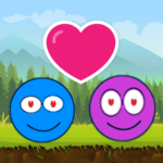 Blue And Pink Ball Lovers V2 1.0 APK