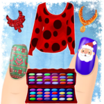 Dress up and Nail Games – Christmas Style 1.1.32 APK