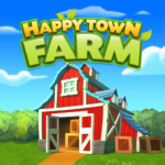 Happy Town Farm: Farming Games & City Building 1.0.0 APK