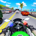 Police Moto Bike Highway Rider Traffic Racing Game 67 APK