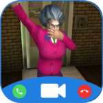 Scary Teacher Horrible Video Call – Chat Prank 3.0 APK