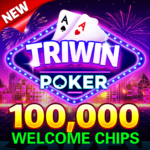 Blackjack & Video Poker – Triwin Poker free games 1.0 APK