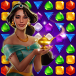 Genies & Gold – Match 3 Jewel & Gem Adventure 1.2.5 APK