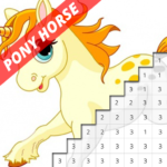 Pony Horse Pixel Coloring By Number 7.0 APK