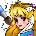 Princess Coloring Book: Magic Color by Number 1.1.0.0 APK