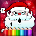 Christmas Coloring Book By Numbers 2.3 APK