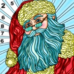 Coloring Book Christmas Color By Number Paint Game 1.1 APK