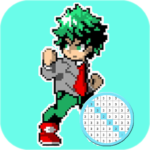 Coloring Hero Academia By Number – Anime Color Art 48.0 APK