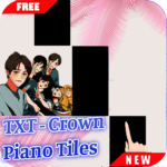 Crown – TXT Piano Tiles 1.0.4 APK
