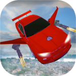 Flying car Shooting: Ultimate car Flying simulator 1.4 APK