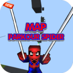 Parkour Spider : Map for MCPE 2.0 APK