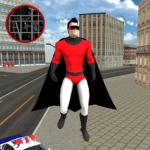 Flying SuperHero Rope Vegas Rescue 2.5 APK
