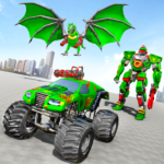 Monster Truck Robot Wars – New Dragon Robot Game 1.1.4 APK