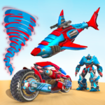 Shark Robot Car Game – Tornado Robot Bike Games 3d 1.0.9 APK