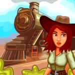 Gold and Trains – rotate tracks, connect cities 1.34 APK