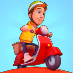 Deliveryman: running bike race 3D 1.10.2 APK