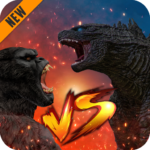 Godzilla & Kong 2021: Angry Monster Fighting Games 3 APK