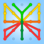 GeoBoard relaxing puzzle game drawing lines shapes  APK