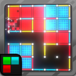 Dots and Boxes (Neon) 80s Style Cyber Game Squares  APK